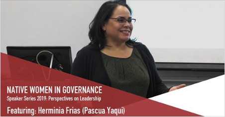 Herminia Minnie Frias Native Women in Governance