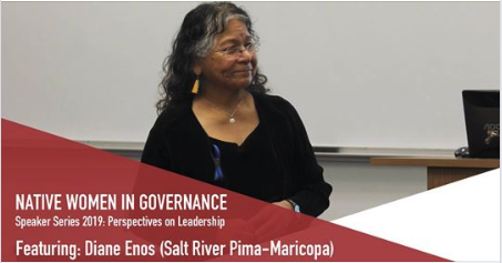 Diane Enos Native Women in Governance
