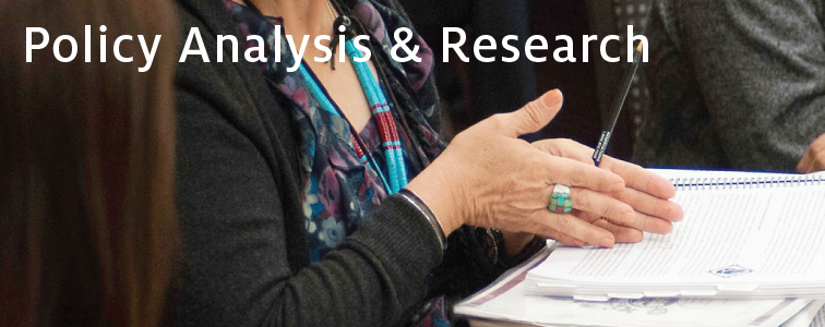Policy analysis and research